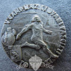 Distintivo Medaglione Giovani Fascisti v. campo Torino 1936