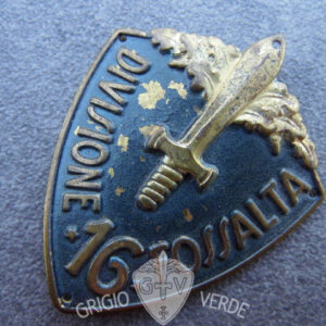 Scudetto omerale da truppa 16° divisione fanteria Fossalta