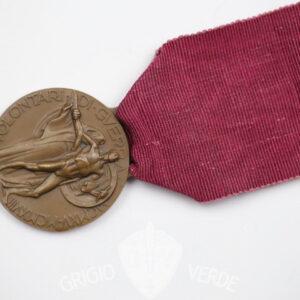 medaglia per volontario nella prima guerra mondiale 1915-1918