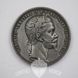 Medaglia alleanza Franco-Sarda per l'Indipendenza d'Italia - 29 aprile 1859