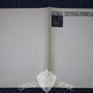 Ardisco non ordisco , carta intestata legionari fiumani legione sarda