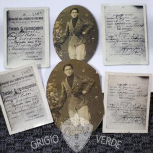 """foto di ardito a Fiume , pubblicata su """"arditi in posa"""""""