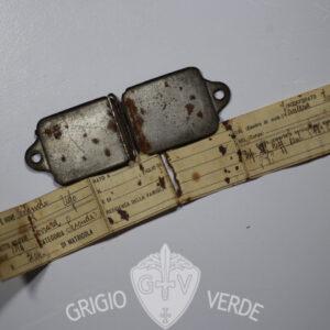 """Piastrino prima guerra mondiale soldato 28° regg. fanteria """"Pavia"""""""