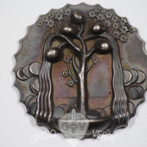 Medaglia in argento Il risparmio. Disegno Adolfo Wildt. Italia 1923