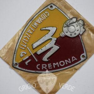 Scudetto Giovani Fascisti G.I.L. CREMONA