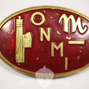 O.N.M.I. Opera Nazionale maternità e Infanzia distintivo P.N.F.