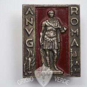 Distintivo A.N.V.G. Roma volontari di guerra 1934
