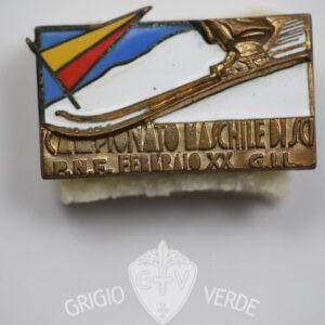 Distintivo sci P.N.F. G.I.L. 1942