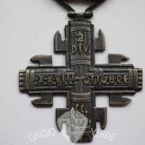 Croce camice nere divisione 28 ottobre la ferrea