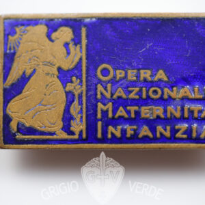 Distintivo ONMI opera nazionale maternità infanzia